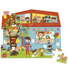 Puzzle Goûter d'anniversaire (36 pièces)