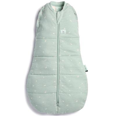 Gigoteuse d'emmaillotage chaude coton bio ErgoCocoon  Sage TOG 2.5 (80 cm)