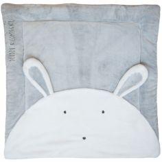 Tapis de jeu Tapidou lapin gris (100 x 100 cm)