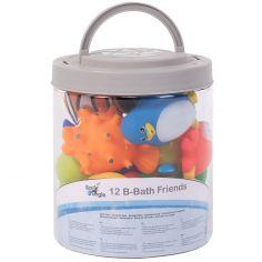 Coffret jouets de bain (12 pièces)