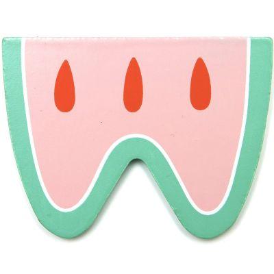 Lettre décorative Pastèque W comme watermelon Petit Monkey