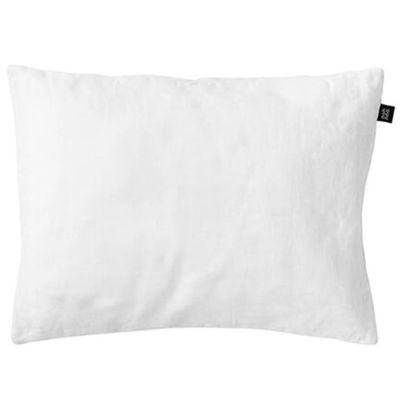 Taie d'oreiller en lin blanc Pure White (40 x 60 cm)  par ooh noo