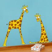 Sticker messieurs les girafons - Série-Golo