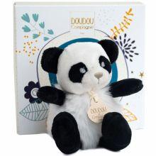 Peluche Minizoo Panda (15 cm)  par Doudou et Compagnie