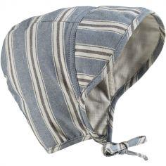 Chapeau anti UV béguin Sandy Stripe (12-24 mois)