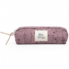 Trousse scolaire ours Pink bear