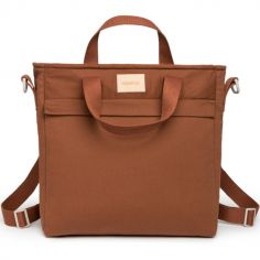 Sac à dos à langer waterproof Baby on the go Clay Brown