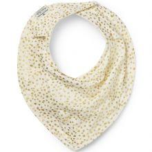 Bavoir bandana Gold Shimmer  par Elodie