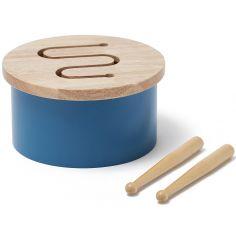 Mini tambour bleu