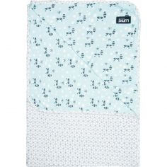 Serviette de bain Raton-laveur menthe (100 x 75 cm)