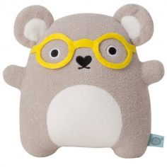 Peluche koala Ricehawking lunette jaune (20 cm)