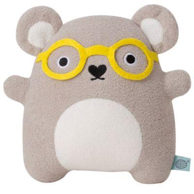 Peluche koala Ricehawking lunette jaune (20 cm)  Noodoll