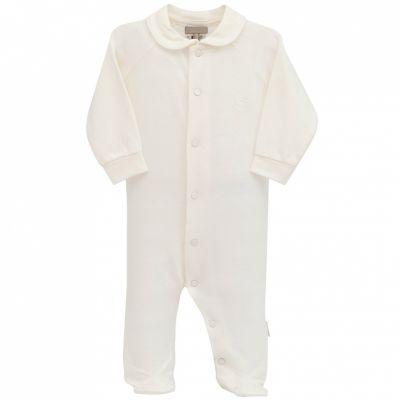 Pyjama léger tencel écru (6 mois)  par Cambrass