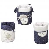 Lot de 3 paniers de toilette Merlin - Sauthon Baby Déco