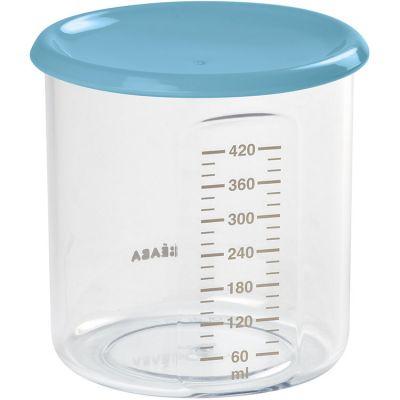 Pot de conservation Maxi+ portion bleu (420 ml)  par Béaba