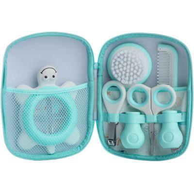 Trousse de soin Water world bleue (5 accessoires)