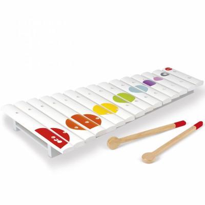 Grand xylophone en bois Confetti  par Janod