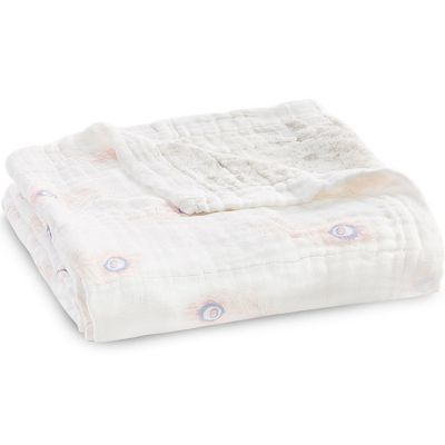 Couverture de rêve Dream Blanket Silky soft Featherlight (120 x 120 cm)  par aden + anais