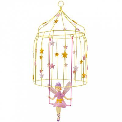 Mobile décoratif Les volières à elfes Etoile  par L'oiseau bateau