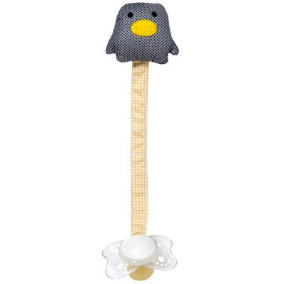 Attache sucette pingouin  par Franck & Fischer