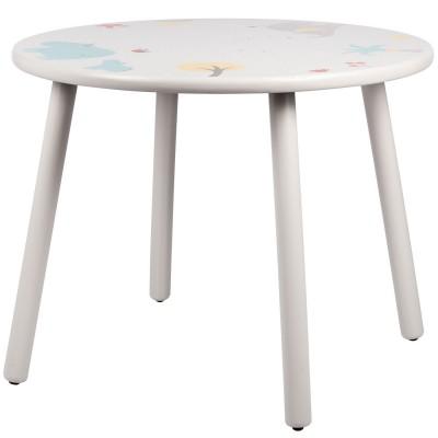 Table d'enfant en bois Les Papoum Moulin Roty