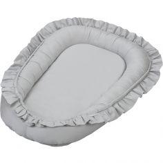 Réducteur de lit gris clair