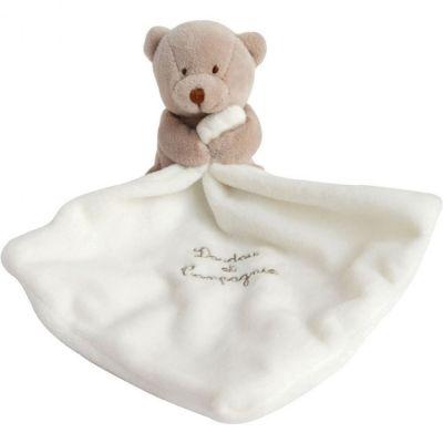 Coffret doudou mouchoir ours (10 cm)  par Doudou et Compagnie