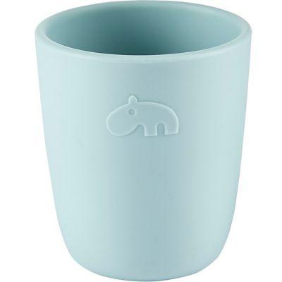 Gobelet en silicone Ozzo hippopotame bleu (160 ml)  par Done by Deer