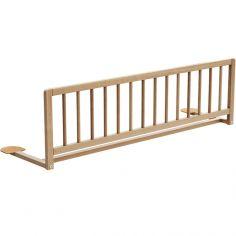 Barrière de lit en bois de hêtre verni Essentiel