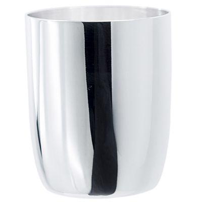 Timbale tonneau Unie personnalisable (métal argenté)  par Aubry-Cadoret