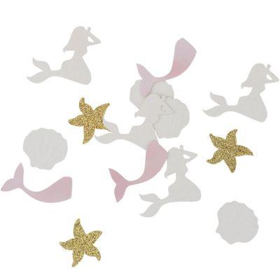 Lot de 100 confettis sirène Under the sea  par Arty Fêtes Factory