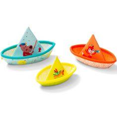 Petits bateaux flottants