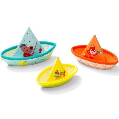 Petits bateaux flottants  par Lilliputiens