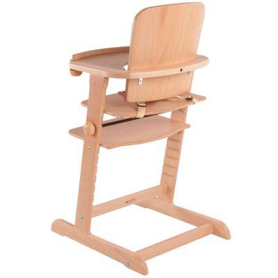 Chaise haute évolutive Family bois naturel