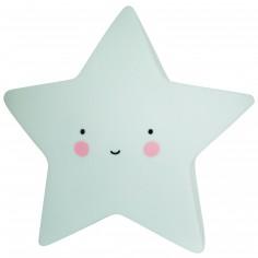 Petite veilleuse étoile vert menthe