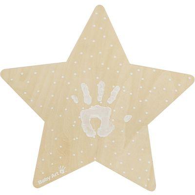 Applique murale à empreinte étoile Baby Art
