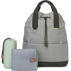 Sac à dos à langer Top'n'Tail Eco gris