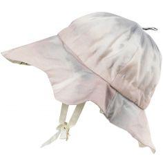 Chapeau d'été Embedding Bloom Pink (0-6 mois)