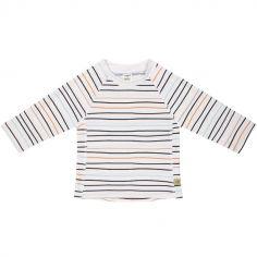 Tee-shirt anti-UV manches longues Marin pêche (12 mois)