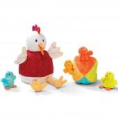 Jeu d'activités Ophélie la poule et ses poussins - Lilliputiens