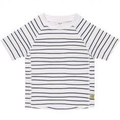 Tee-shirt anti-UV manches courtes Marin bleu (6 mois)