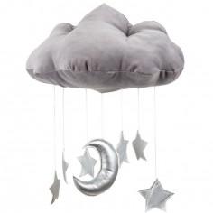 Mobile nuage gris