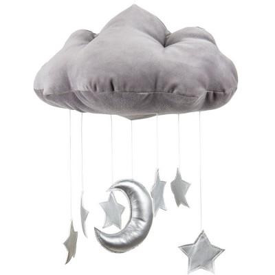 Mobile nuage gris  par Cotton&Sweets