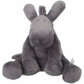 Peluche Paco âne gris foncé Poudre d'étoiles (40 cm)  - Noukie's