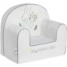 Fauteuil club lapin