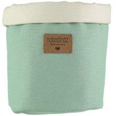 Panier de toilette en tissu Tango Provence green (16 x 19 cm)