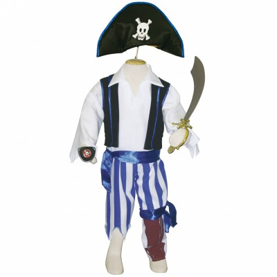 Déguisement pirate (6-8 ans)  par Travis Designs