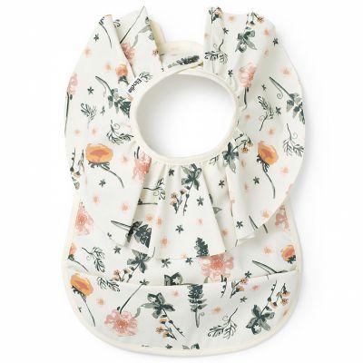 Bavoir à poche fleur Meadow Blossom  par Elodie Details