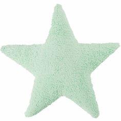 Coussin étoile soft mint (50 cm)