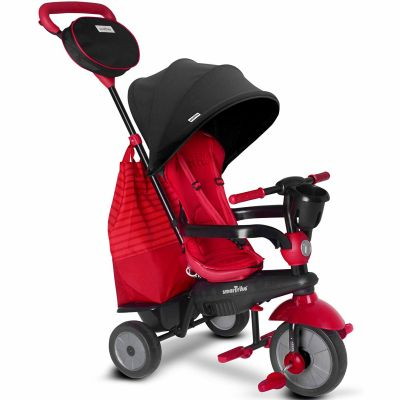 Tricycle évolutif 4 en 1 Swing DLX rouge  par smarTrike